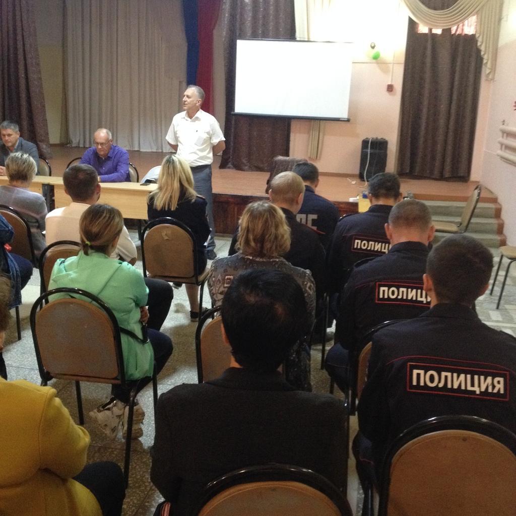 Состоялось заседание Совета общественности по профилактике правонарушений микрорайона № 4 города Кузнецка
