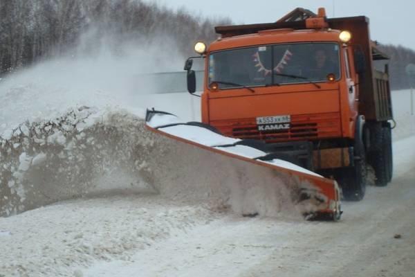 На уборку снега мобилизованы все силы и средства
