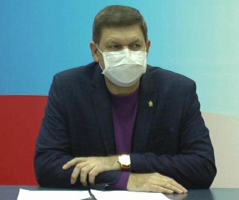 Главный врач ГБУЗ «Кузнецкая межрайонная больница» Алексей Потапов ответил на вопросы журналистов