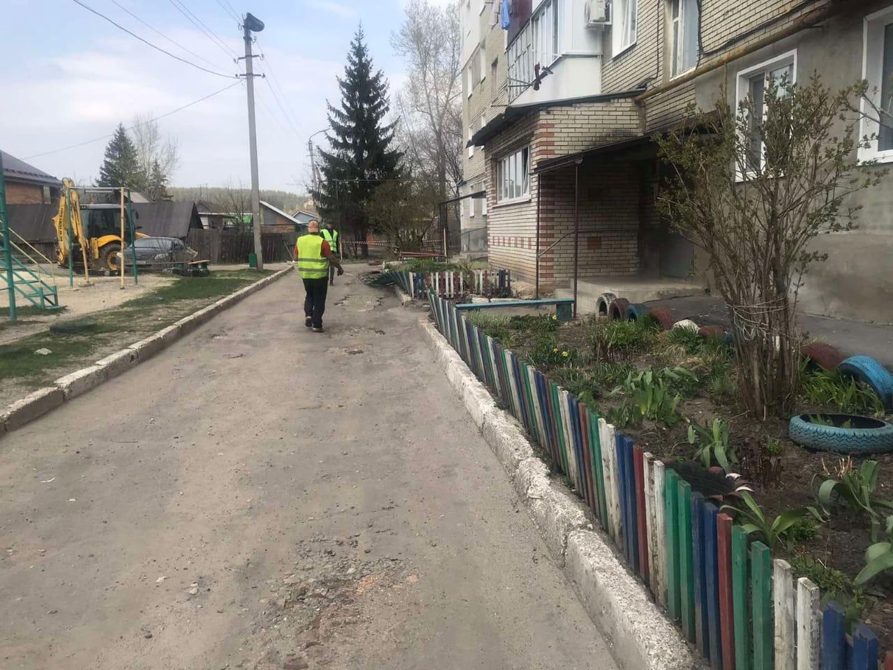 Ведутся работы по благоустройству дворовой территории по улице Сызранская  98 а