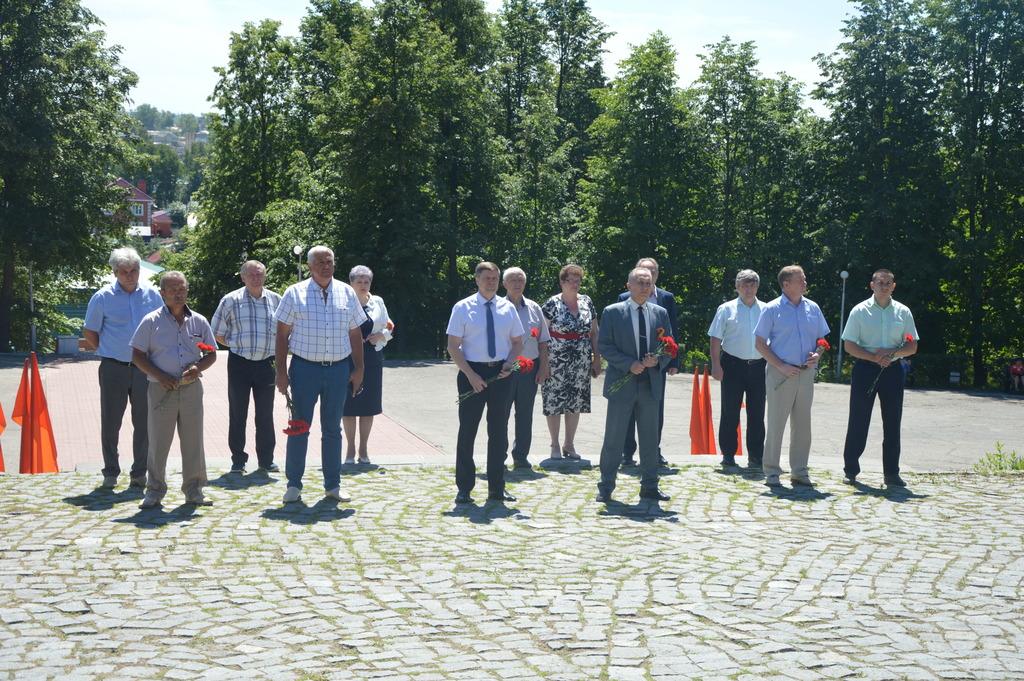 В Кузнецке почтили память погибших в Великой Отечественной войне