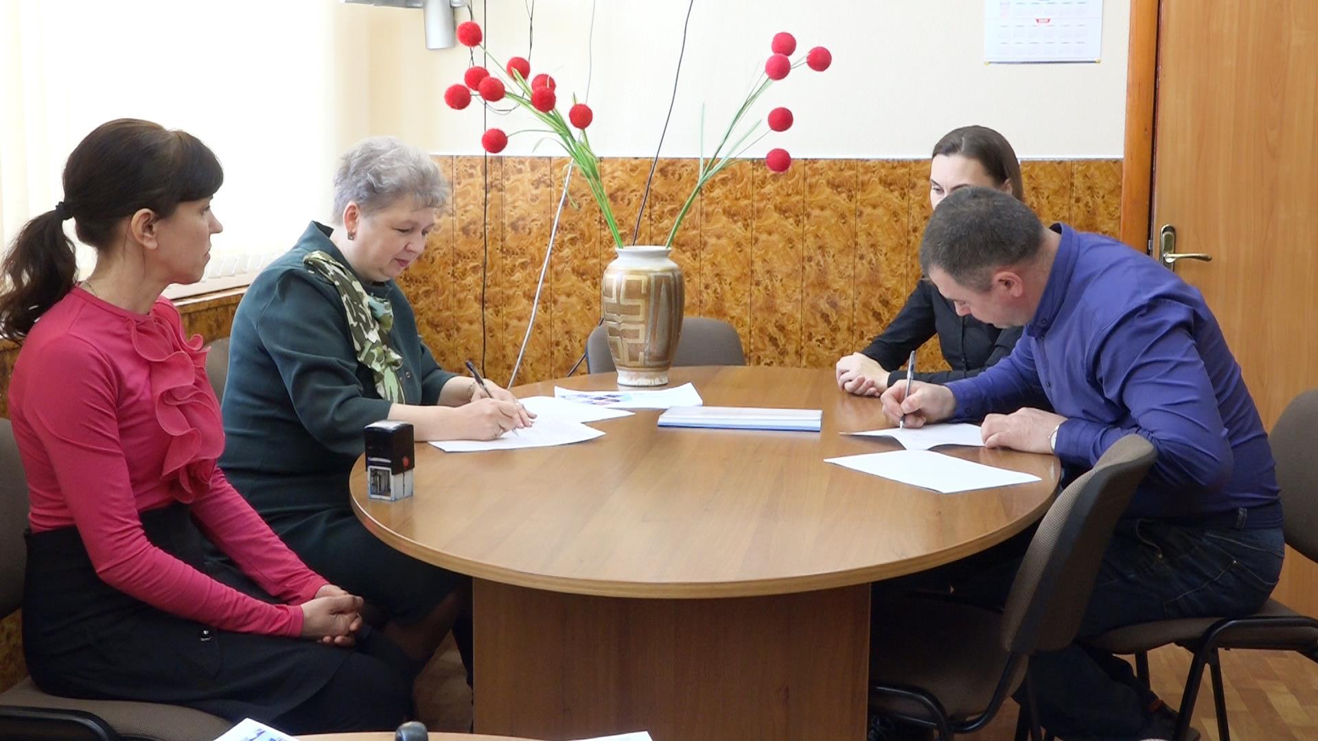 В Кузнецке подписан первый социальный контракт