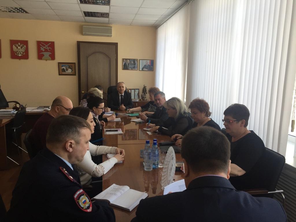 Рабочая группа обсудила меры по недопущению распространения на территории города Кузнецка коронавирусной инфекции
