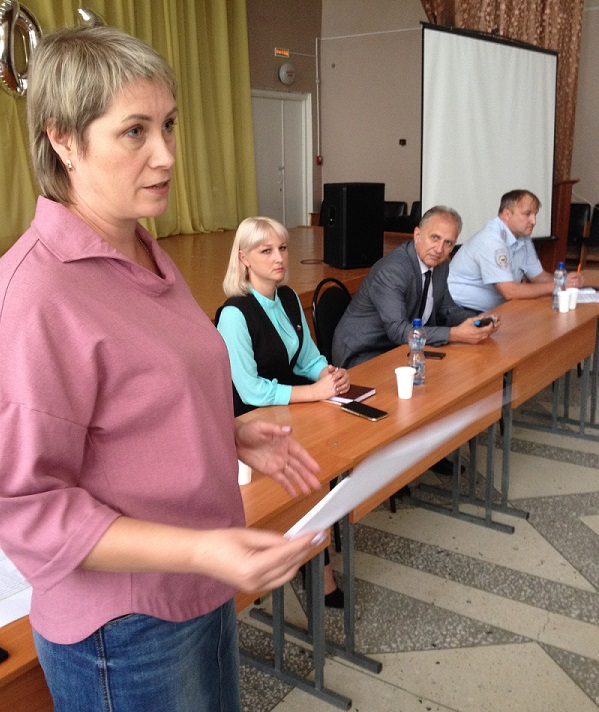 Состоялось расширенное заседание Совета общественности по профилактике правонарушений микрорайона № 9 города Кузнецка