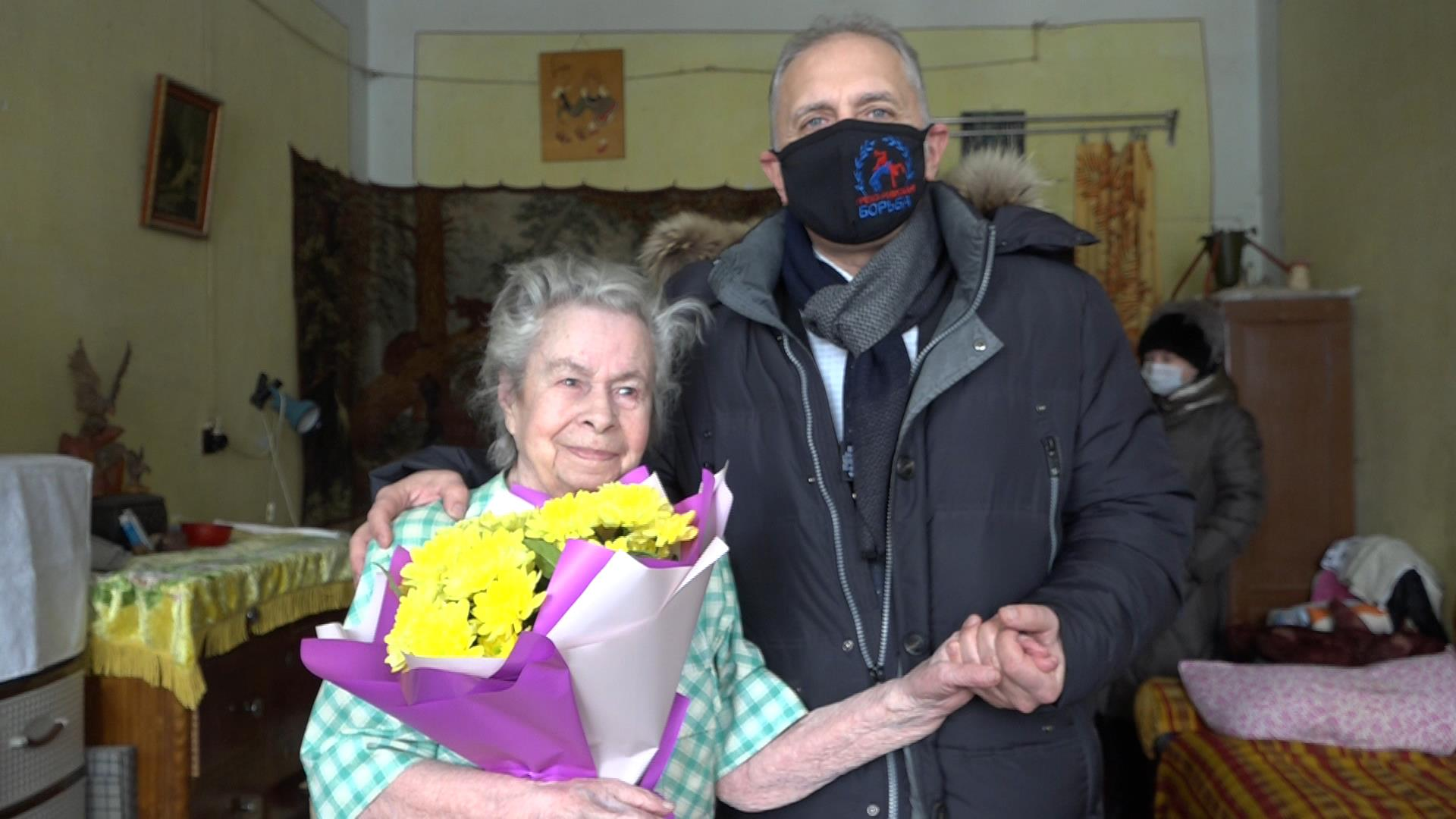 Кузнечанка Валентина Николаевна Дралина отметила вековой юбилей