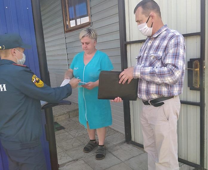 В Кузнецке проводятся межведомственные рейды по соблюдению правил пожарной безопасности