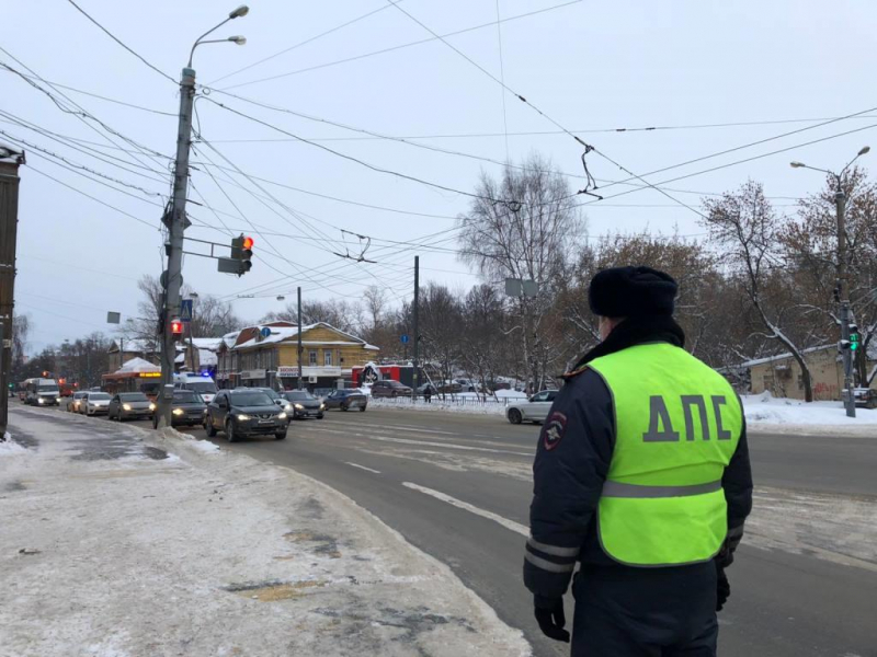 12 февраля  на территории Кузнецка проводится профилактическое мероприятие «Пешеход»