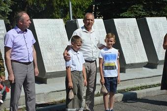 Кузнецк присоединился  ко Всероссийской военно-патриотической акции «Горсть памяти»