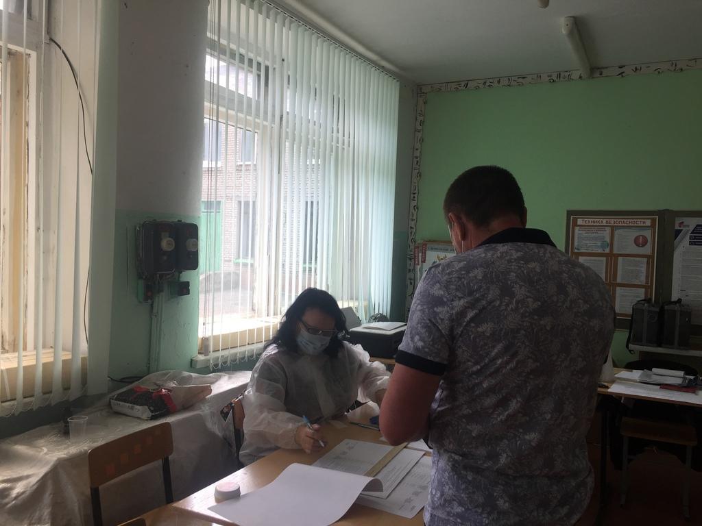 В Кузнецке началось голосование по поправкам в Конституцию РФ