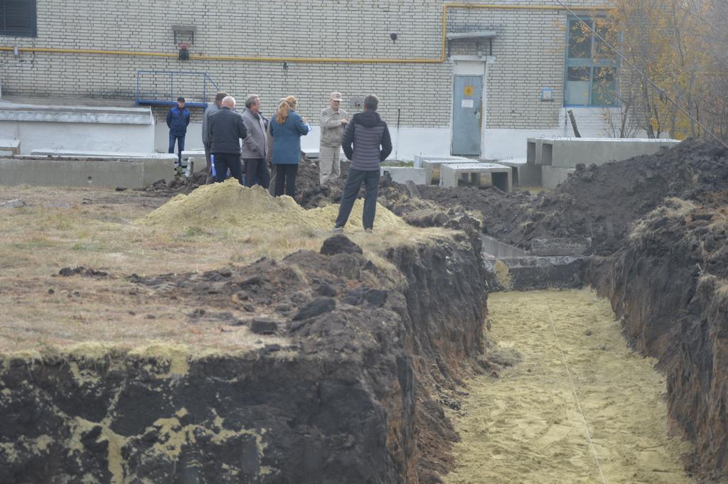 В Кузнецке ведется строительство  второй станции обезжелезивания воды