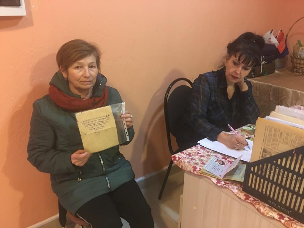 Кузнечанка передала музею бесценную семейную реликвию