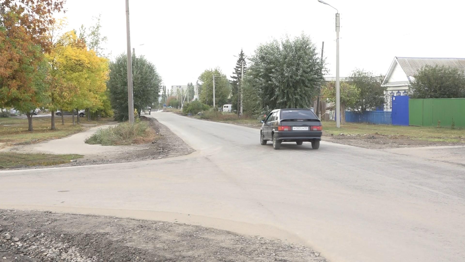 По просьбам жителей отремонтирован участок дороги по улице Осипенко