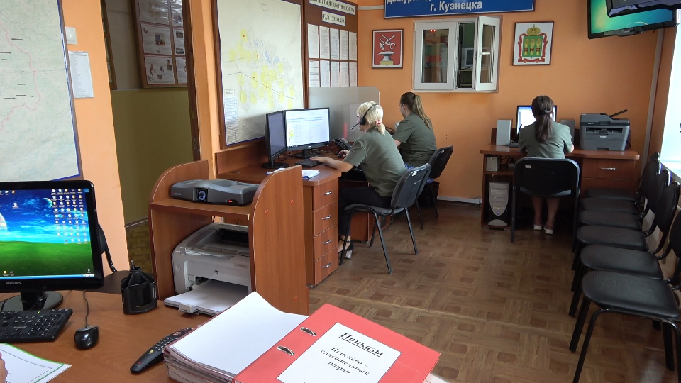 В феврале на телефон ЕДДС Кузнецка поступило 44 сообщения