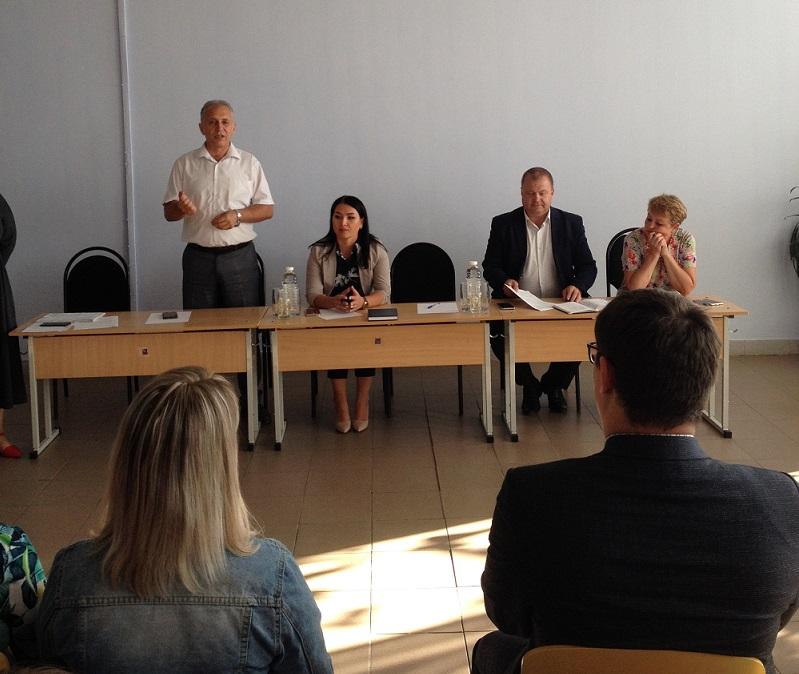 В школе № 17 состоялось расширенное заседание Совета общественности по профилактике правонарушений