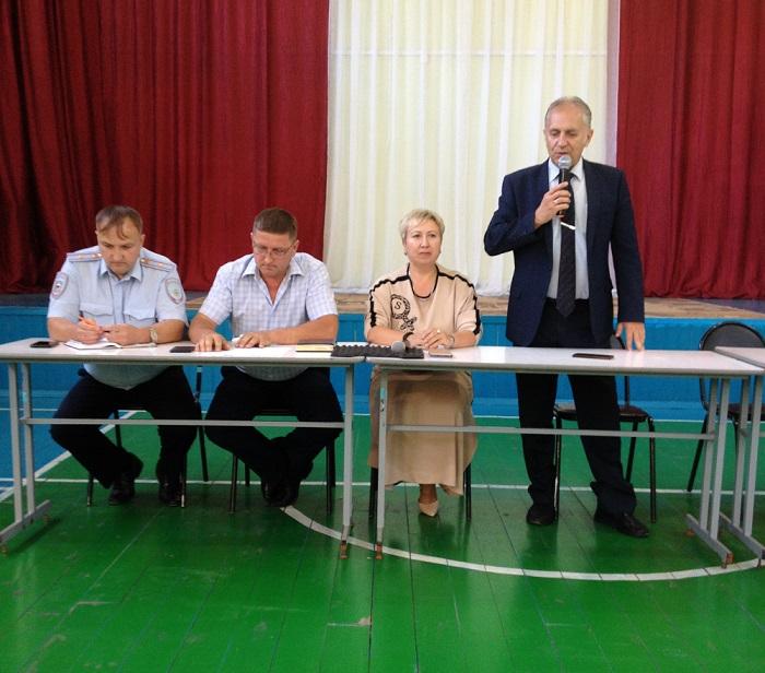 Состоялось очередное заседание Совета общественности по профилактике правонарушений
