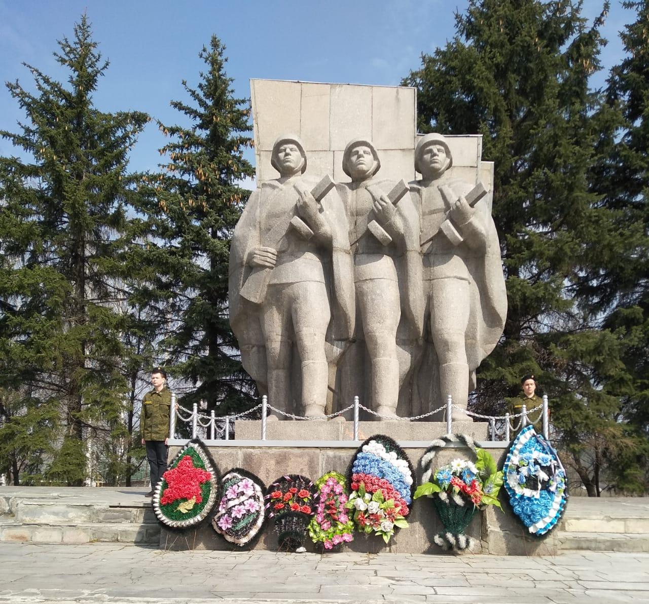 Кузнецкие школьники заступили на Вахту памяти