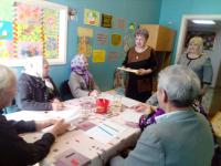 Клуб любителей творчества «Акварель» объединил людей пожилого возраста